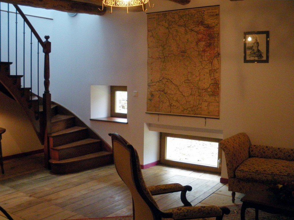 Les chambres d'hôtes sont situées à l'étage