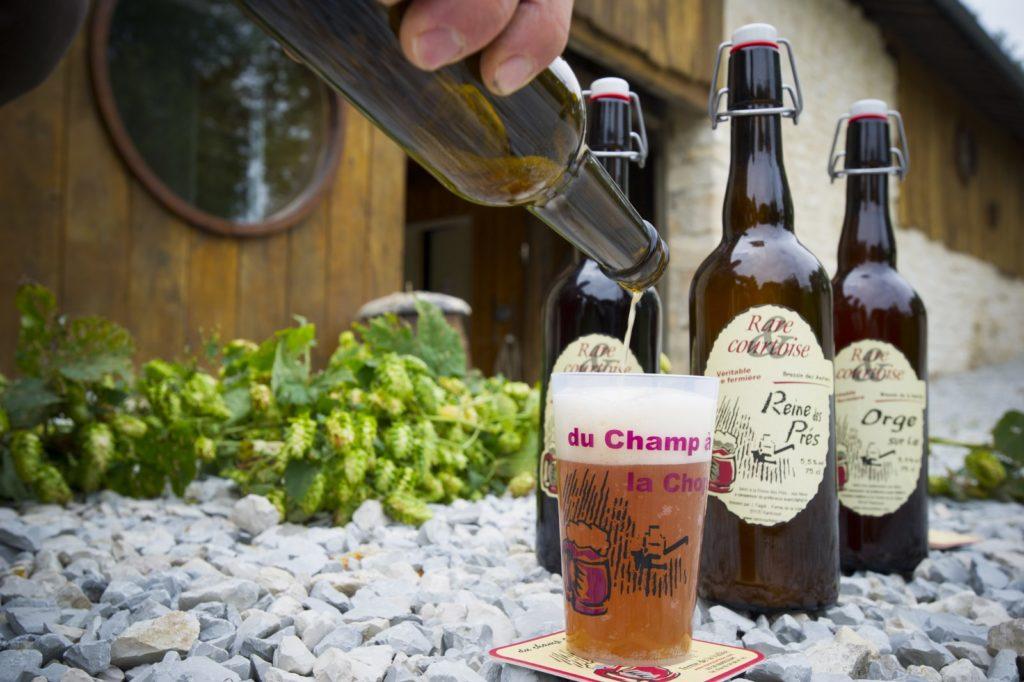 Bière artisanale la rarécourtoise